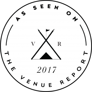 As Seen On The Venue Report Badge