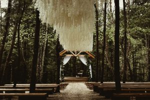 Stunning Twilight inspired forest wedding at Events At Hemlock Springs.