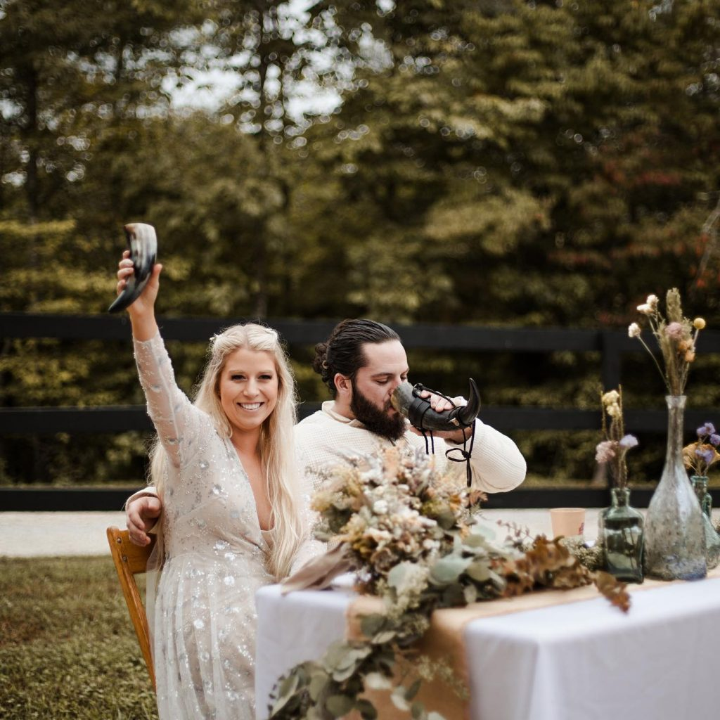 game of thrones themed wedding at hemlock springs in the red river gorge