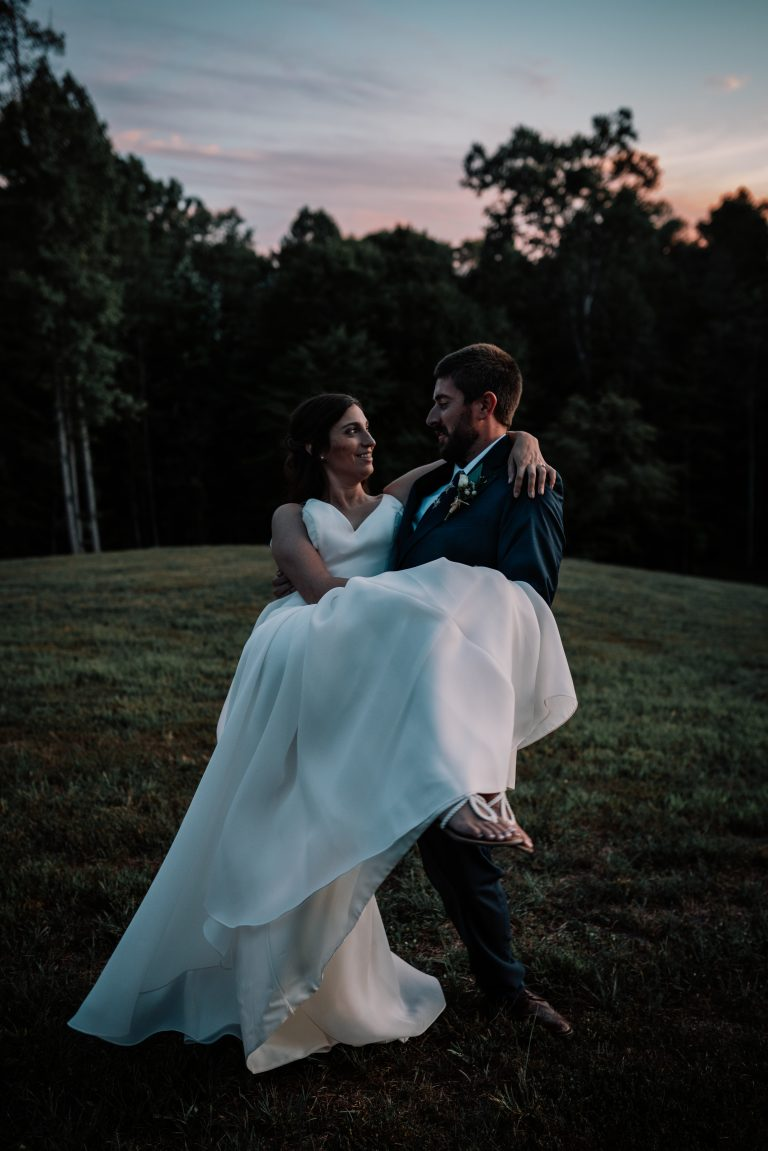 summer mountain wedding in the red river gorge