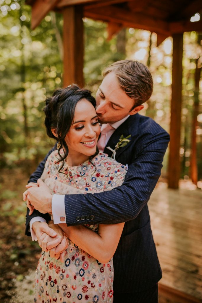 Forest Wedding Venue in the Red River Gorge at Hemlock Springs