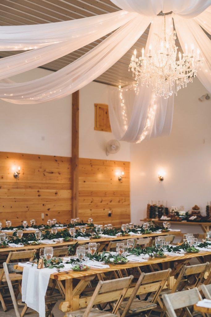 spring forest wedding at hemlock springs