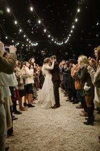 Fall wedding in the Red River Gorge